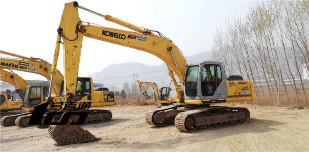 石家庄市出售转让二手2008年神钢SK250-8挖掘机