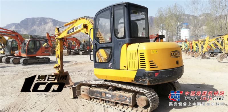 石家庄市出售转让二手2900小时2013年雷沃FR60挖掘机