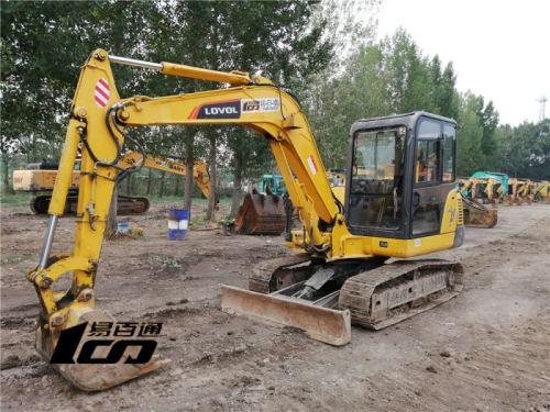 石家庄市出售转让二手2235小时2017年雷沃FR65E挖掘机