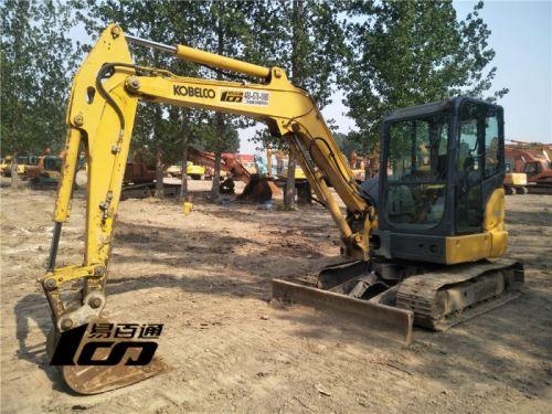 石家庄市出售转让二手2015年神钢SK55SRX-6挖掘机