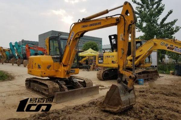 武汉市出售转让二手2007年龙工LG6060挖掘机