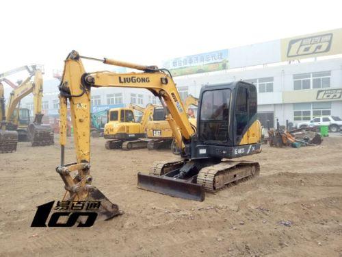 济南市出售转让二手7364小时2013年柳工CLG906D挖掘机