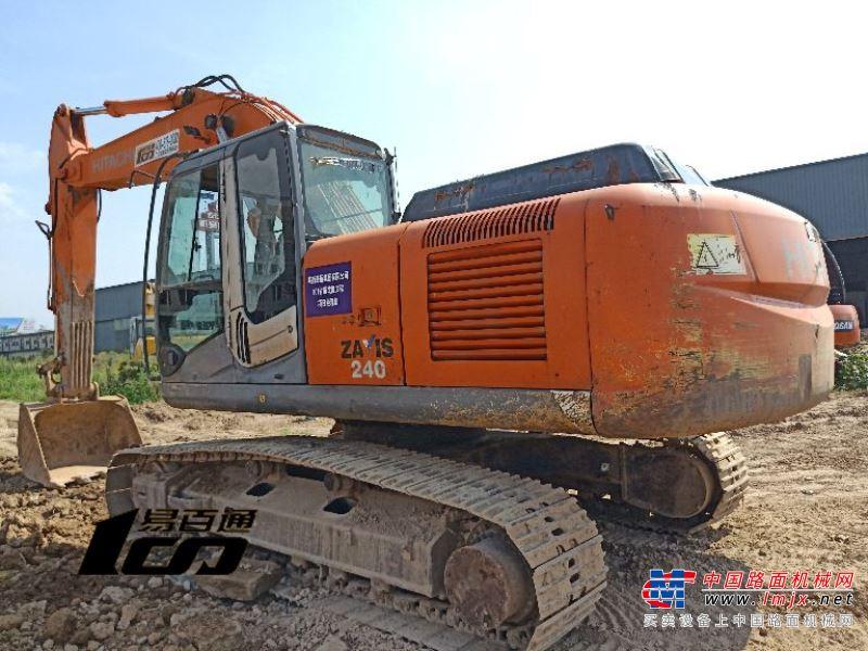西安市出售转让二手2008年日立ZX240-3挖掘机