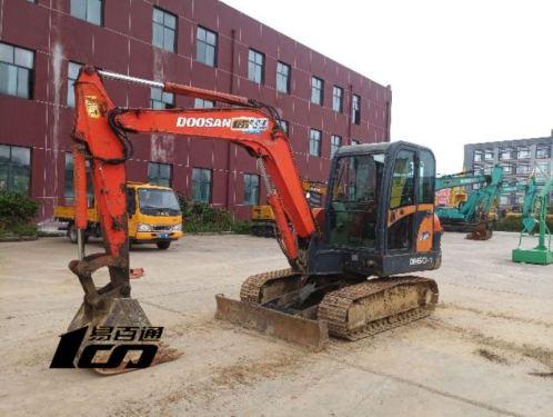 贵阳市出售转让二手2008年斗山DH60-7挖掘机