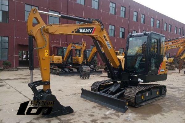 贵阳市出售转让二手3小时2018年三一SY55C挖掘机