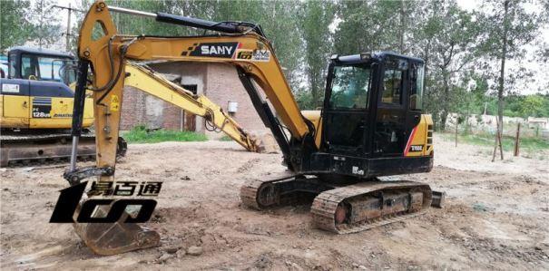 石家庄市出售转让二手2017年三一SY55C挖掘机