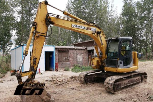石家庄市出售转让二手2003年小松PC128US-2挖掘机