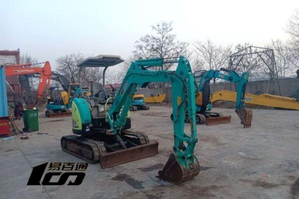 天津出售转让二手3991小时2008年洋马Vio30-5B挖掘机