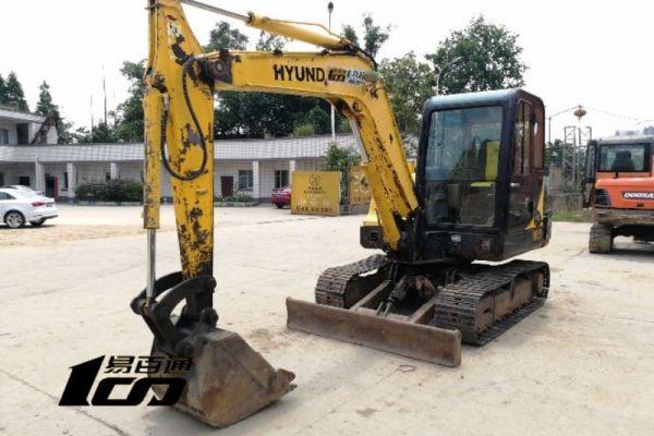 成都市出售转让二手2010年现代R60-7挖掘机