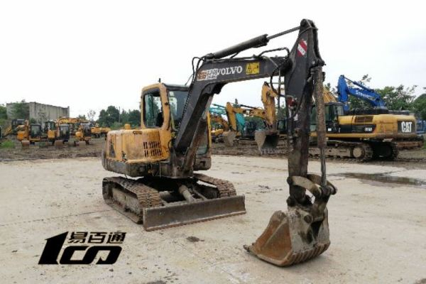 成都市出售转让二手2012年沃尔沃EC55BPro挖掘机