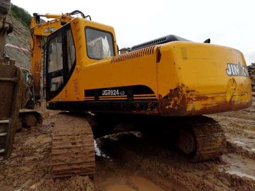 四川出售转让二手8000小时2011年晋工JGM924挖掘机