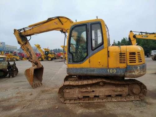 四川出售转让二手8000小时2010年新筑XZ90挖掘机
