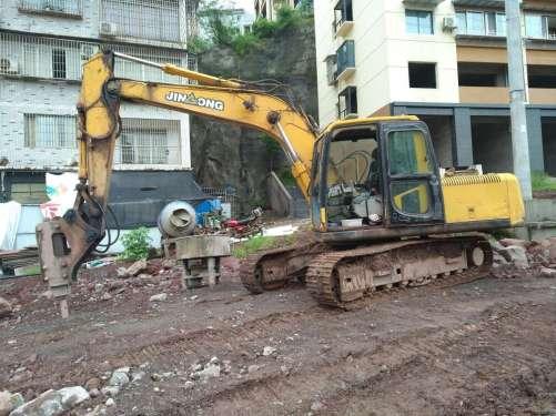 四川出售转让二手12000小时2010年晋工JGM915挖掘机