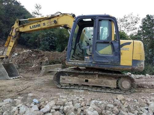 贵州出售转让二手6000小时2013年力士德SC80挖掘机