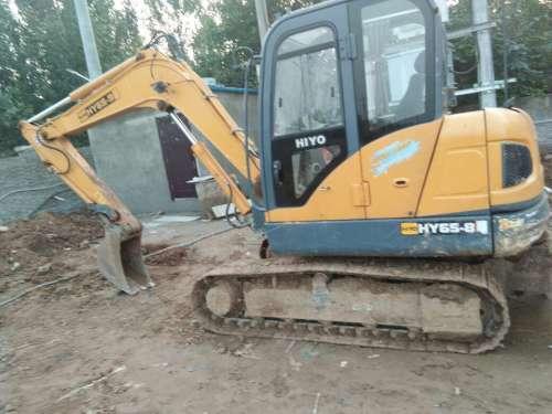 河北出售转让二手3500小时2014年恒岳重工HY65挖掘机