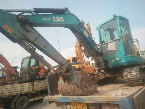 宁夏出售转让二手8000小时2011年久保田KX155挖掘机