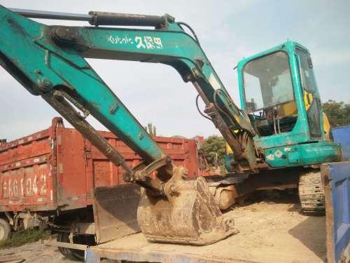 宁夏出售转让二手15000小时2009年久保田KX155挖掘机