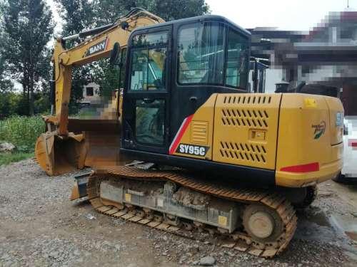 河南出售转让二手400小时2017年三一重工SY95C挖掘机