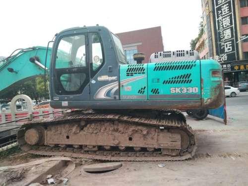 山东出售转让二手8600小时2010年神钢SK250挖掘机