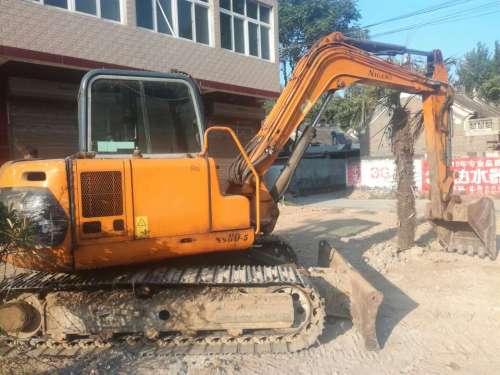 河南出售转让二手8000小时2010年京城长野NS80C挖掘机