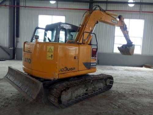 陕西出售转让二手3200小时2013年加藤HD308R挖掘机