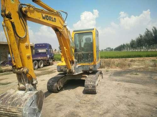 宁夏出售转让二手5000小时2012年沃得重工W260挖掘机