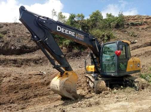贵州出售转让二手460小时2017年约翰迪尔E140LC挖掘机