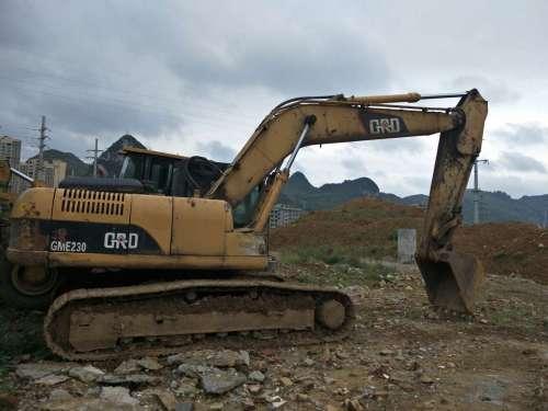 湖南出售转让二手5000小时2012年格瑞德GME230挖掘机