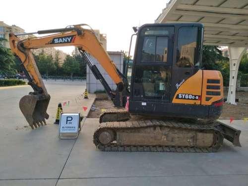 山东出售转让二手4000小时2014年三一重工SY60C挖掘机