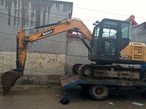 山东出售转让二手7600小时2013年三一重工SY75C挖掘机