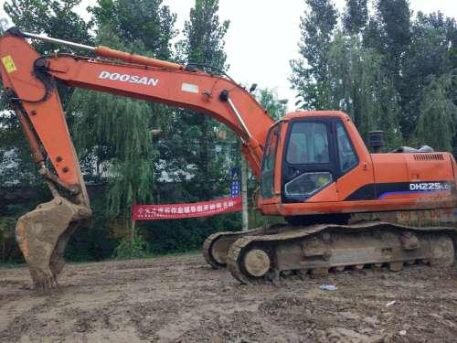 山东出售转让二手10000小时2007年大宇DH220LC挖掘机