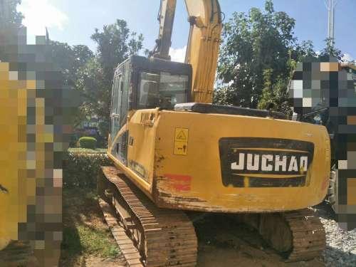 云南出售转让二手3000小时2014年巨超重工JC150挖掘机