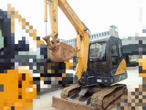 陕西出售转让二手2340小时2013年柳工CLG906D挖掘机