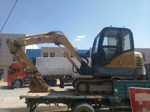 宁夏出售转让二手8000小时2010年柳工CLG906C挖掘机