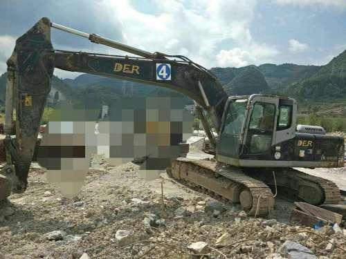 贵州出售转让二手8000小时2011年恒天德尔DER323挖掘机