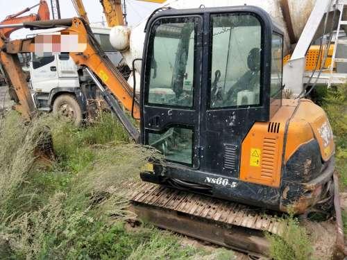山西出售转让二手7000小时2010年京城长野NS60C挖掘机