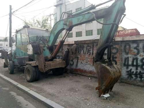 辽宁出售转让二手10000小时2007年恒岳重工HY65挖掘机