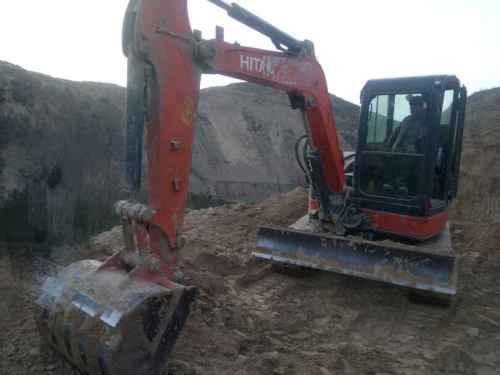 山西出售转让二手3800小时2013年日立ZX50U挖掘机