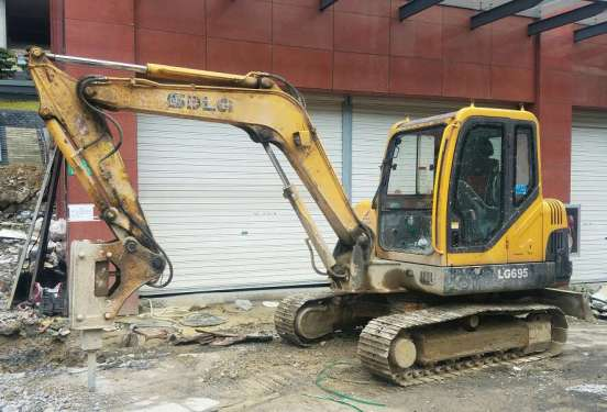 贵州出售转让二手6000小时2012年临工LG665挖掘机