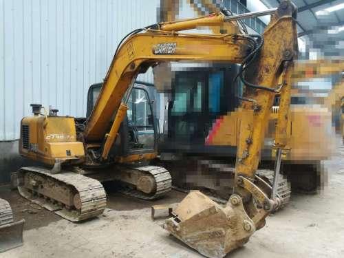 陕西出售转让二手8000小时2008年卡特重工CT85挖掘机