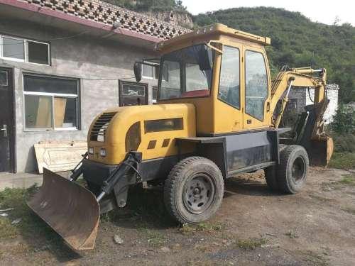 山西出售转让二手3500小时2008年鲁牛LN75B挖掘机