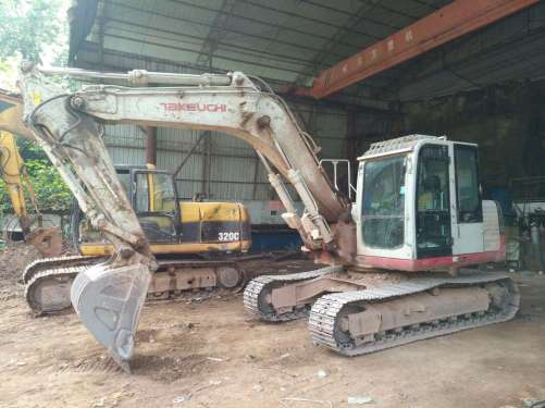 四川出售转让二手5000小时2013年竹内TB1135C挖掘机