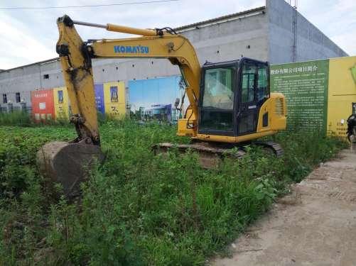 黑龙江出售转让二手7582小时2011年小松PC70挖掘机