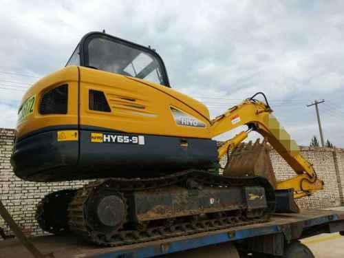 山西出售转让二手1200小时2016年恒岳重工HY65挖掘机