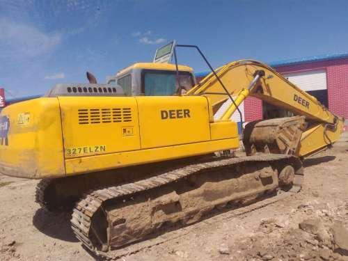 内蒙古出售转让二手10000小时2009年恒天德尔DER323挖掘机