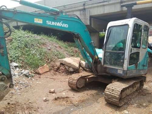 河北出售转让二手5000小时2012年山河智能SWE50E挖掘机