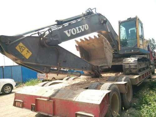 河北出售转让二手7300小时2010年沃尔沃EC210B挖掘机