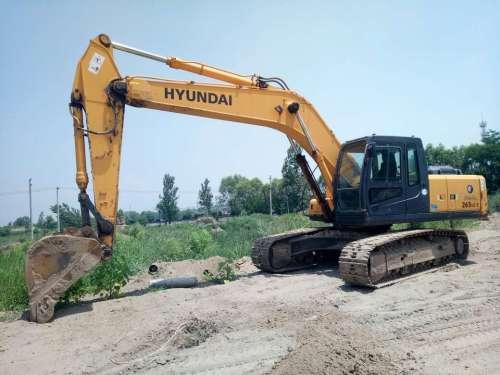 山西出售转让二手4400小时2010年现代R265LC挖掘机
