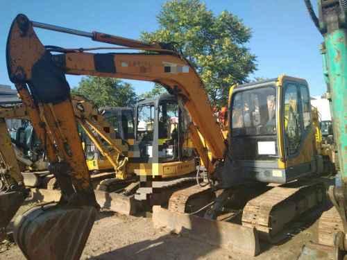 河北出售转让二手8000小时2010年新筑XZ65挖掘机