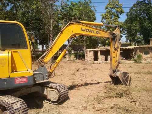 宁夏出售转让二手6200小时2013年沃得重工W260挖掘机